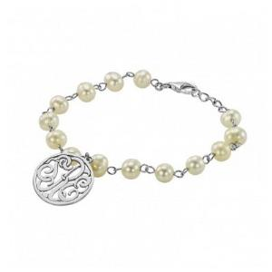 Monogram Pearl Bracelet 35x37mm