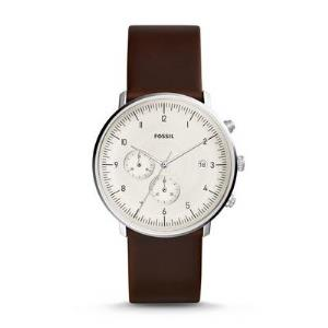 Chase Timer Chronograph Brown Leather Watch