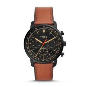 Goodwin Chronograph Luggage Leather Watch