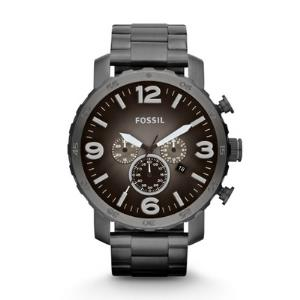 Nate Chronograph Smoke Stainless Steel Watch