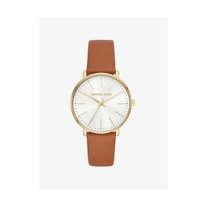 Pyper Gold-Tone Leather Watch