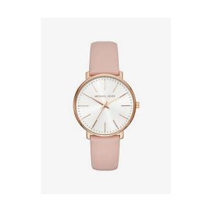 Pyper Rose Gold-Tone Leather Watch