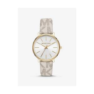 Pyper Logo and Gold-Tone Watch