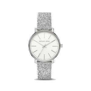 Pyper Silver-Tone Swarovski® Crystal Embellished Watch