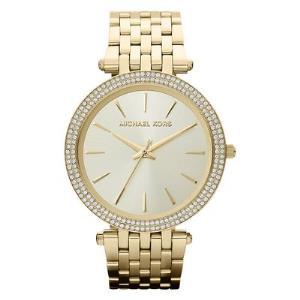 Darci Pave Gold-Tone Watch