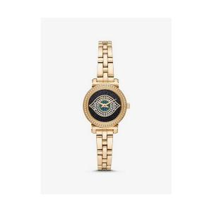 Petite Sofie Gold-Tone Evil Eye Watch