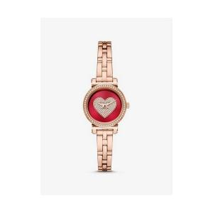 Petite Sofie Rose Gold-Tone Heart Watch