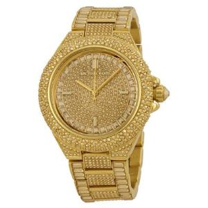Camille Pave Gold-Tone Watch