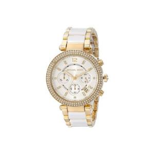 Parker Pave Gold-Tone Acetate Watch