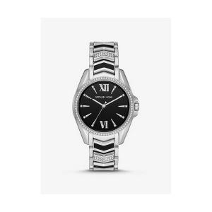 Whitney Silver-Tone and Enamel Watch