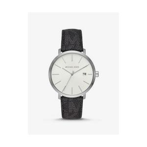 Blake Logo and Silver-Tone and Watch
