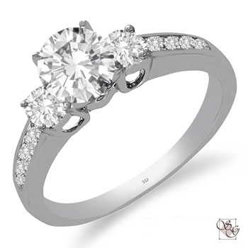 Engagement Rings Channel Set Anniversary Jewelry