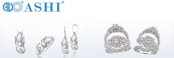 Ashi Diamonds collection at Quality Jewelers