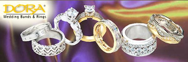 Dora Wedding Bands & Rings collection at Fountain City Jewelers