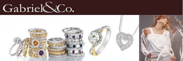 Gabriel & Co collection at Diamond Depot