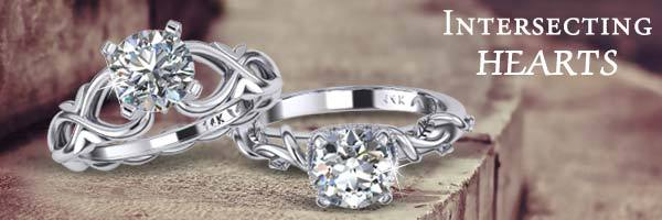 Intersecting Hearts collection at Fountain City Jewelers