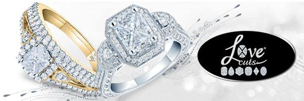 Love Cuts collection at Diamond Depot