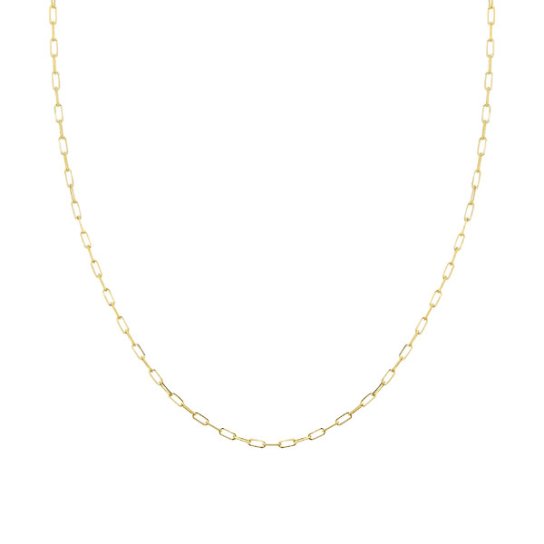 14K YELLOW GOLD DIAMOND-CUT FORZENTINA CHAIN COLLECTION