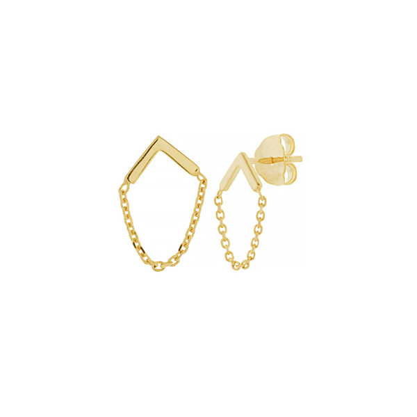 14K YELLOW GOLD STUD COLLECTION