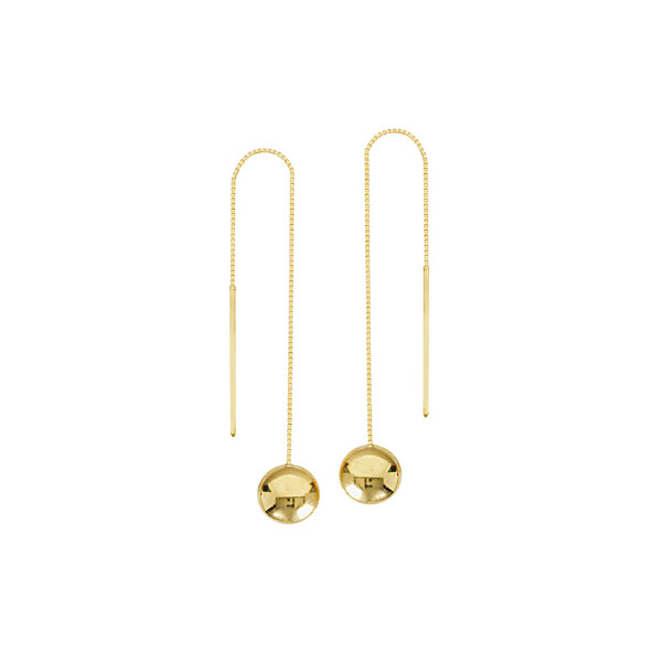 14K YELLOW GOLD THREADER COLLECTION
