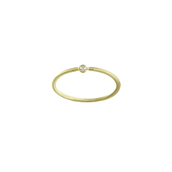 14K YELLOW GOLD DIAMOND BEZEL COLLECTION